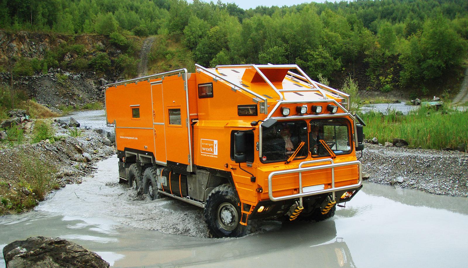 Orangework - MAN KAT 100A100